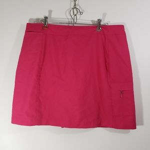 Izod X-Tra Dry Women's Golf Skirt Sz 16